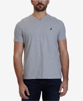 Nautica Men Slim-Fit Stretch V-Neck T-Shirt
