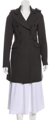 Smythe Wool Knee-Length Coat