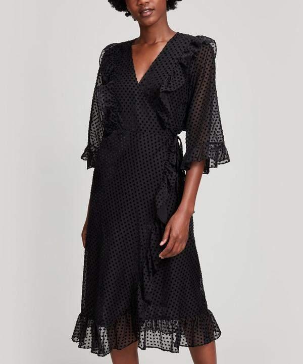 Jasmine Polka-Dot Dress