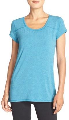 Women's Zella Swoop Cutout Tee $44 thestylecure.com