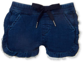 AG Adriano Goldschmied Infant Girls) Lilly Ruffled Denim Shorts