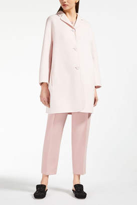 Max Mara Pink Wool Coat