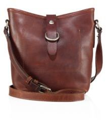 Frye Amy Leather Bucket Bag $298 thestylecure.com