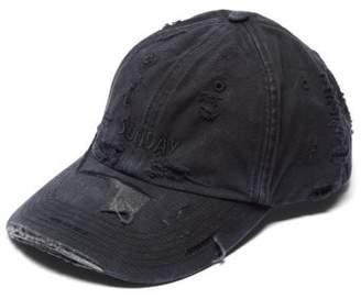 a5be8903064e1 Vetements X Reebok Weekday Sunday Embroidered Baseball Cap - Womens - Black