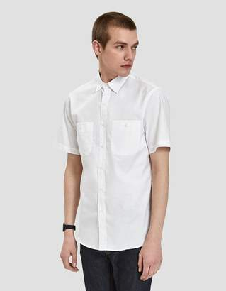 Gitman Brothers Andes Zephyr Shirt in White