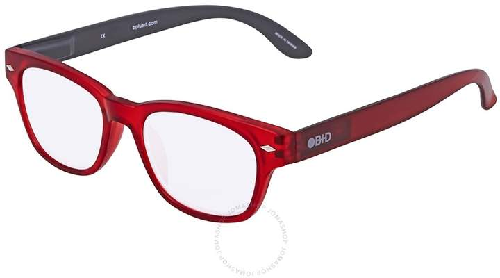 B+D Super Bold Reader Matt Red Eyeglasses
