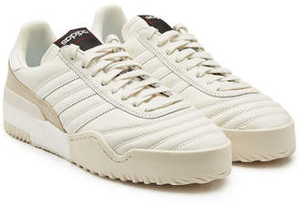 f0383c12bf693 adidas by Alexander Wang BBall Soccer Sneakers with Leather and Suede