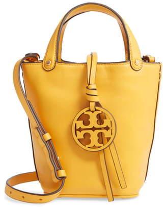 Tory Burch Mini Miller Leather Bucket Bag