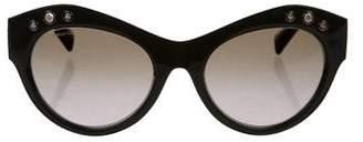 Versace Cat-Eye Gradient Sunglasses