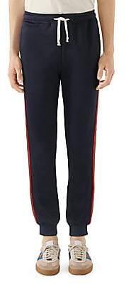 Gucci Men's Technical Jersey Jogging Pants