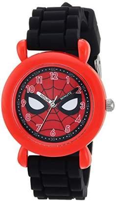 Marvel Boy's 'Spider-Man' Quartz Plastic and Silicone Casual Watch