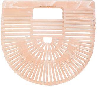Mini Acrylic Ark Bag $361 thestylecure.com