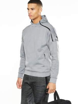 adidas Z.N.E Pulse Overhead Hoodie - Grey