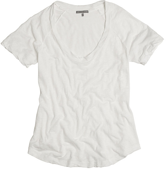 Short Sleeve Raglan Scoop T