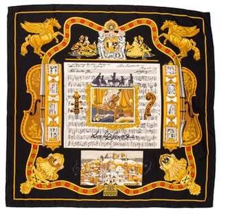 Hermes Salzburg Silk Scarf