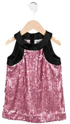 Milly Minis Girls' Sleeveless Sequined Dress w/ Tags
