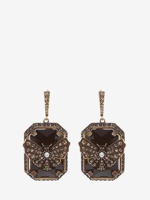 Alexander McQueen Butterfly Earrings