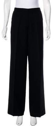 Brooks Brothers High-Rise Wool Pants
