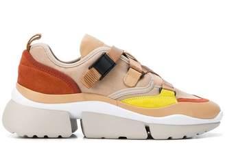 Chloé platform strap sneakers