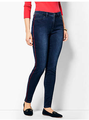Talbots Comfort Stretch Piped Denim Jeggings