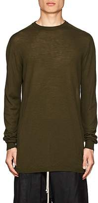 Rick Owens Men's Knit Virgin Wool Crewneck Sweater