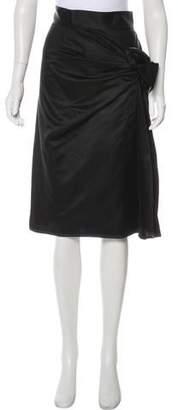Sophie Theallet Satin Knee-Length Skirt