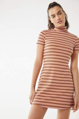 Urban Outfitters Manu Turtleneck Mini Dress