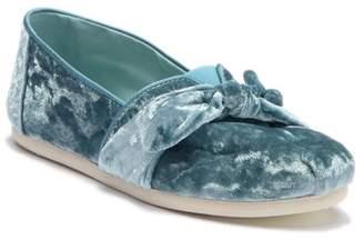 Toms Crushed Frost Velvet Slip-On Sneaker