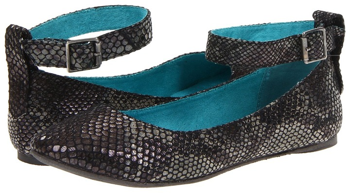 Blowfish Nakato (Black Vintage Slither) - Footwear