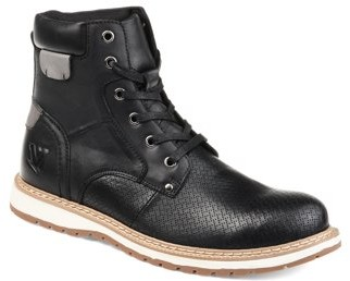 Territory Mens Perforated Lace-up Ankle Boot