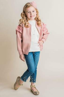 Maeli Rose Pearl Embellished Jacket