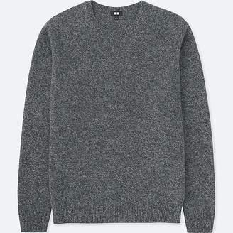 Uniqlo Men's Premium Lambswool Crew Neck Long-sleeve Sweater