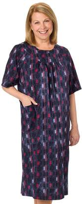 Silverts Disabled Elderly Needs Adaptive Open Back Dress - Caregiver Assisted Dressing