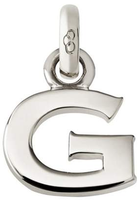 Links of London Sterling Silver Letter G Charm