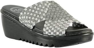 Heal Crossband Wedge Sandals - Ada