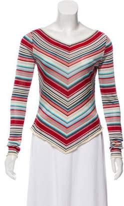 Chloé Striped Knit Top