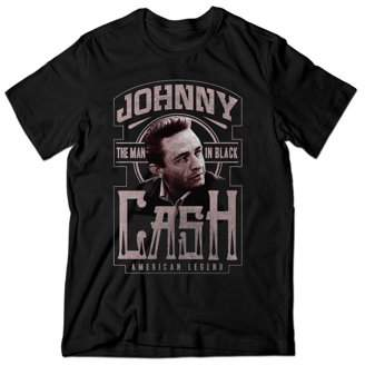 Music Johnny Cash MIB American Legend Men's Graphic Tee