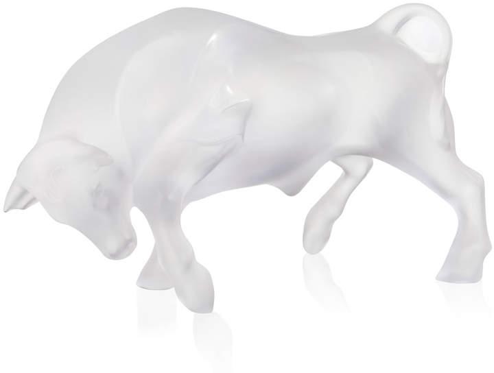 Lalique Bull Figurine