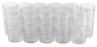 Ralph Lauren 11-Piece Glen Plaid Highball glasses
