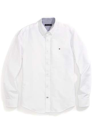 Tommy Hilfiger Custom Fit Solid Oxford Shirt