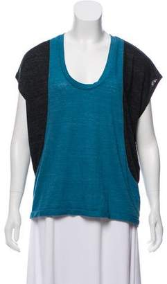 Rogan Colorblock Short Sleeve Top