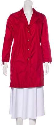 Luciano Barbera Knee-Length Lightweight Coat
