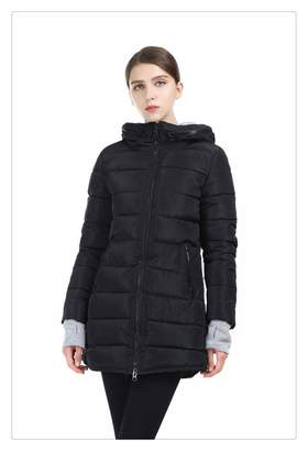 984bf59a9085 Haiyinqux New Warm Winter Jacket Women Hooded Cotton-Padded Parka Cotton  Coat Plus Size Wadded