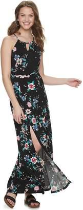 Candies Juniors' Candie's Halter Maxi Dress