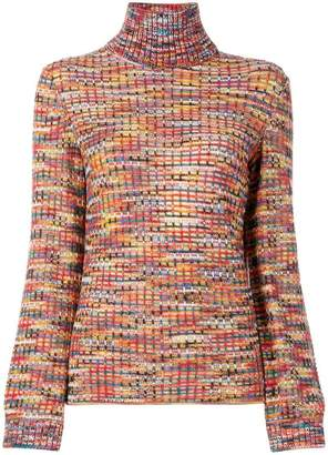 Missoni striped turtleneck jumper