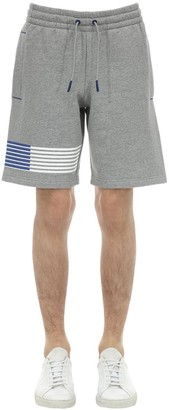 Emporio Armani Ea7 Train 7 Cotton Blend Shorts