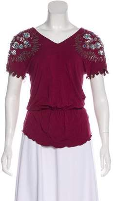 See by Chloe Embellished Knit Top