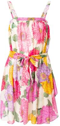 Twin-Set peony print dress