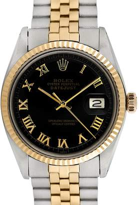 Rolex Women's Vintage Unisex Two-Tone Datejust Watch, 36mm
