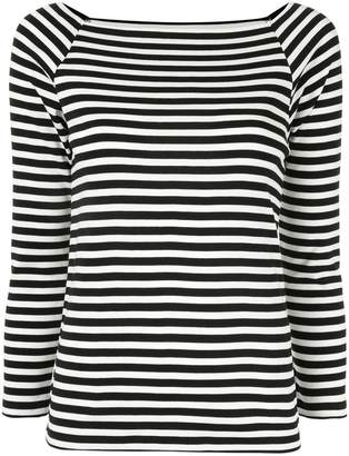TOMORROWLAND striped long sleeve top